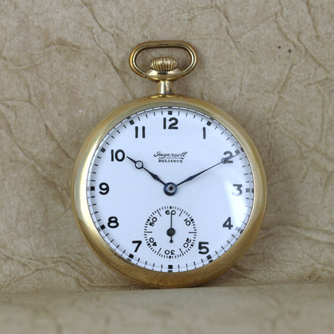 Vintage Ingersoll Reliance Pocket Watch