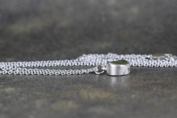 August Birthstone Pendant - Peridot Necklace