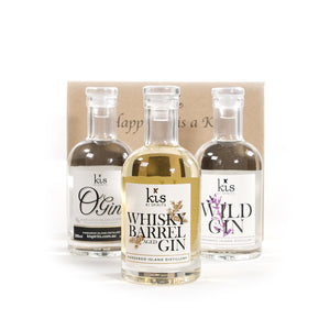 3 Pack with Whisky Barrel, Wild & O Gin