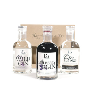 3 Pack with Mulberry, Wild & O Gin
