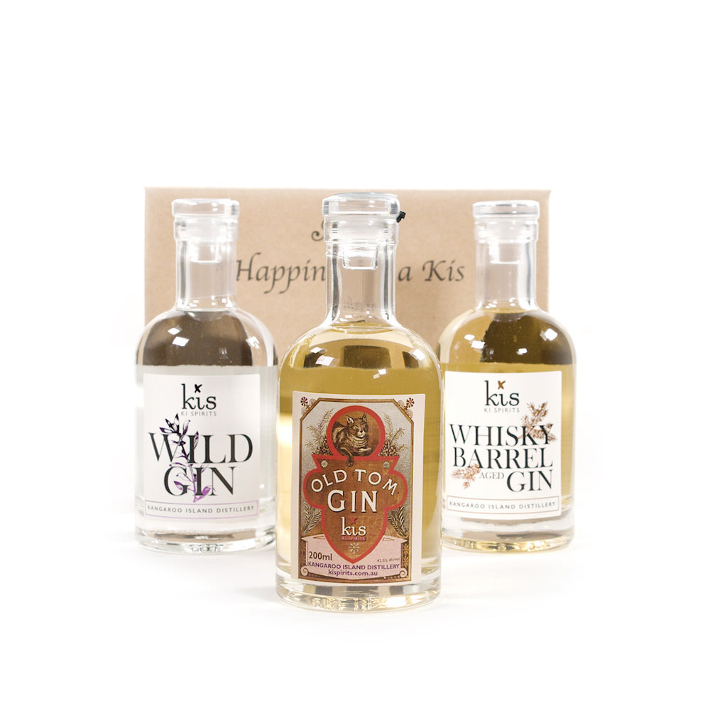 3 Pack GOLD with Old Tom, Wild & Whisky