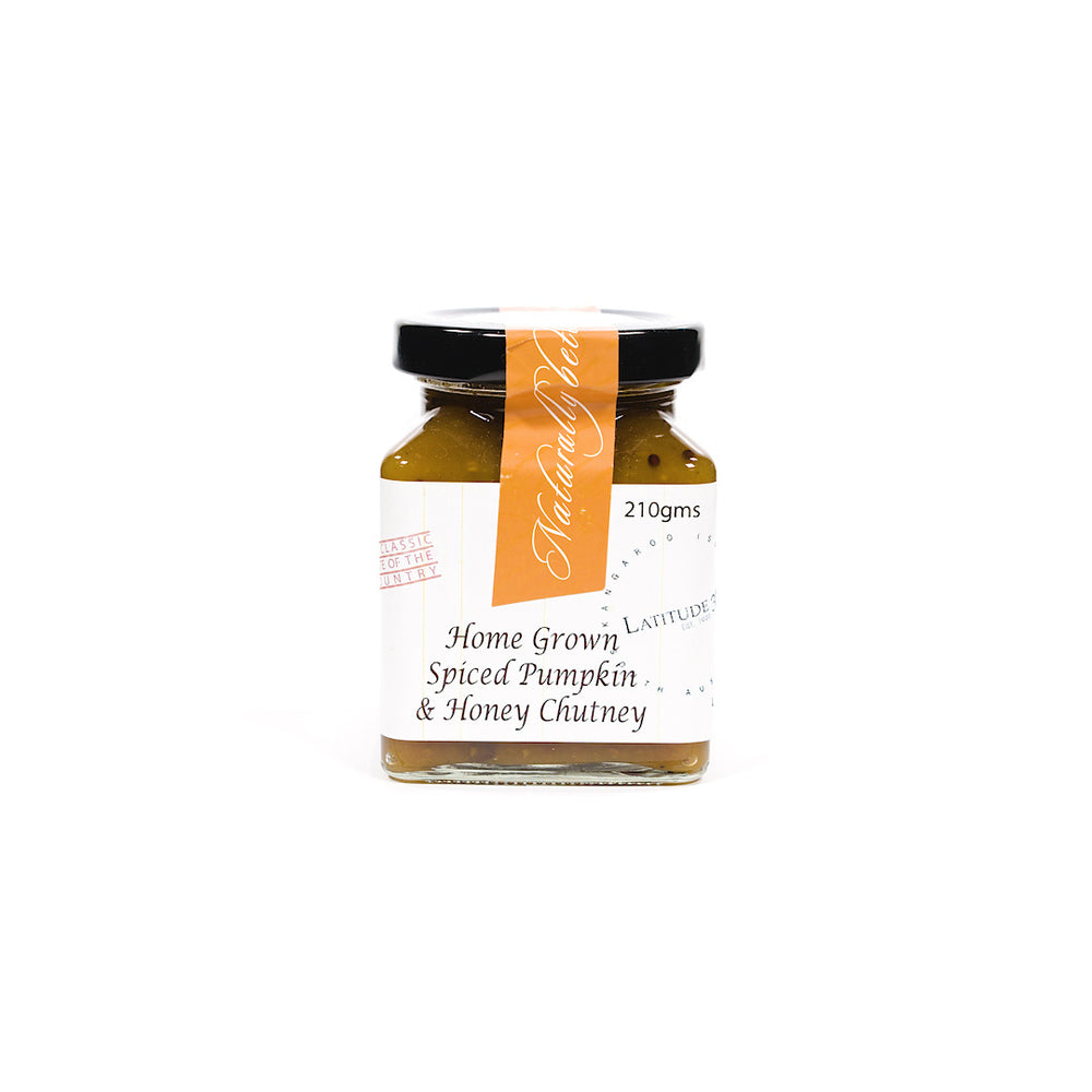Spiced Pumpkin & Honey Chutney