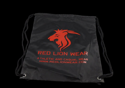 Red Lion Wear Drawstring Bag