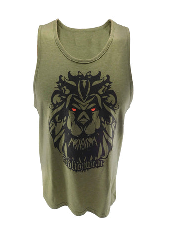 Be Fierce Lion - Tank