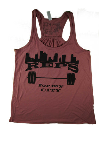 Reps for my City - Ladies Tank top