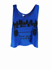 Reps for My City - Crop Top