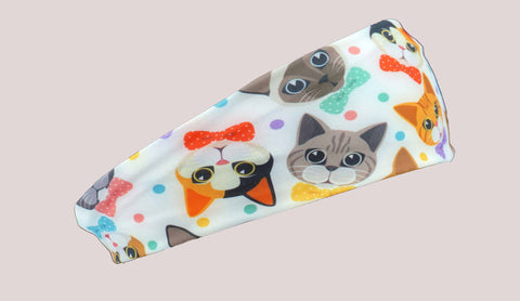 HeadBands - Cats and Bowties