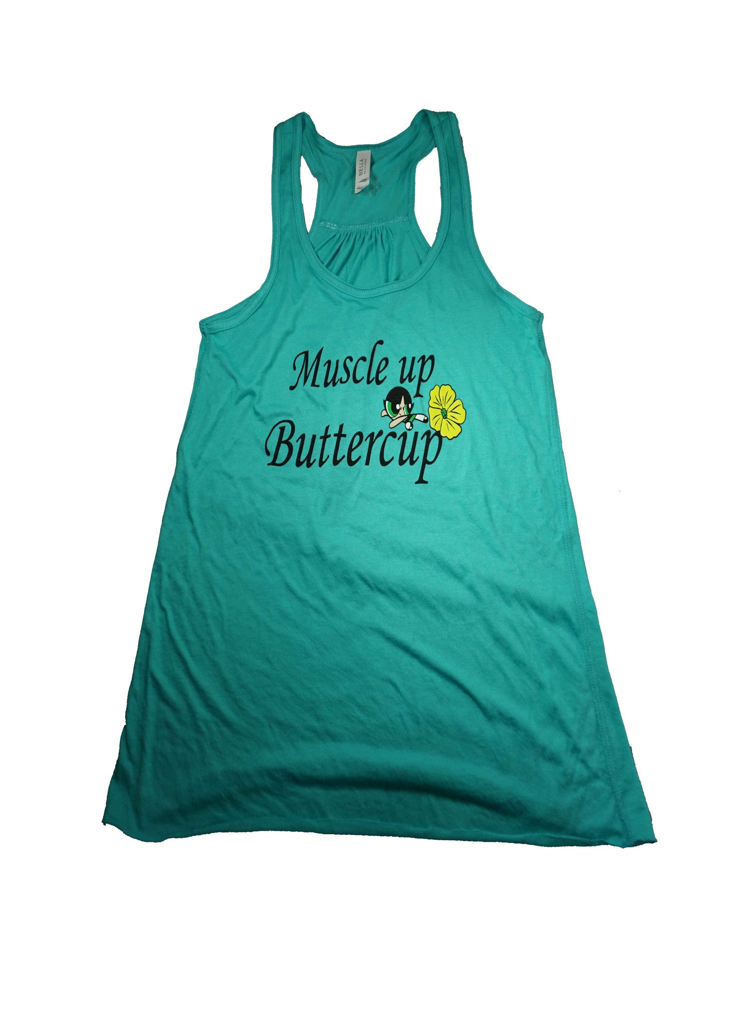 Muscle Up Buttercup - Tank Top