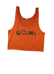 Peace Love & PRs - Crop Top