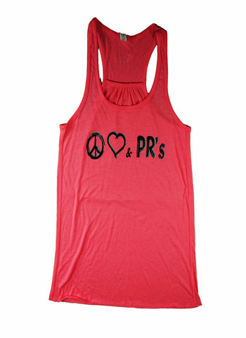 Peace Love & PRs - Tank Top
