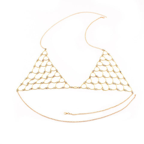 Gold Laced Bralette