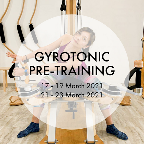 GYROTONIC® L1 Pre-Training Course (Mar)
