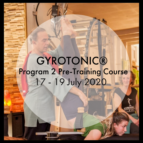 GYROTONIC® Level 2, Program 2 Pre-Training Course