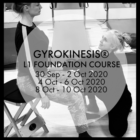 GYROKINESIS® L1 FOUNDATION COURSE