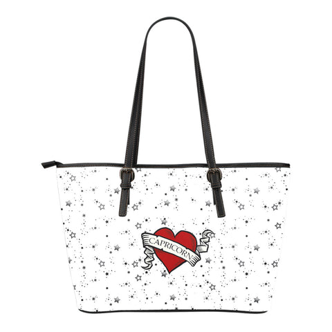 Zodiac Heart Tattoo Tote
