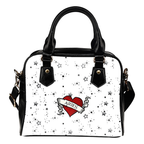 Zodiac Heart Tattoo Handbag