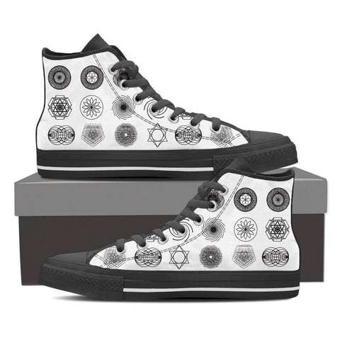 Sacred Geometry Shoes