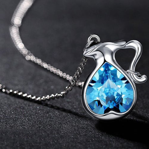 Aquarius Gemstone Necklace