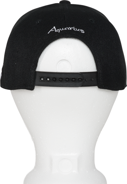 Aquarius Zodiac Animal Hat - Back