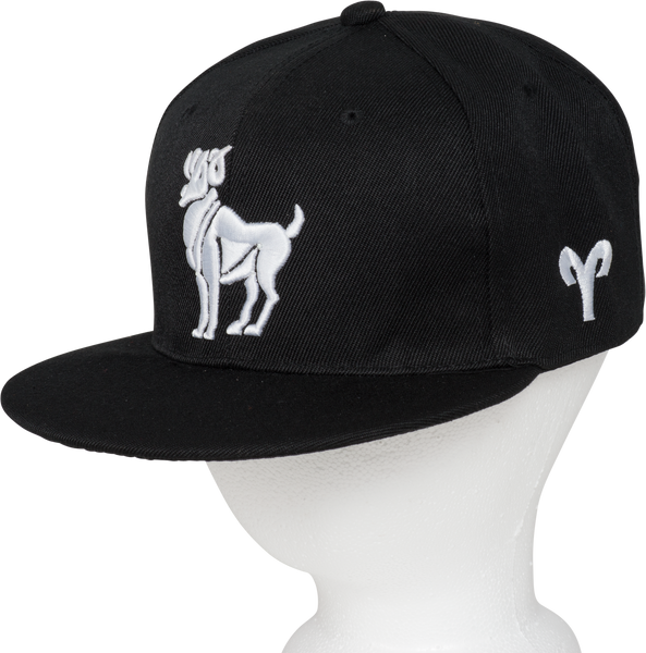 Aries Zodiac Animal Hat - Front Side