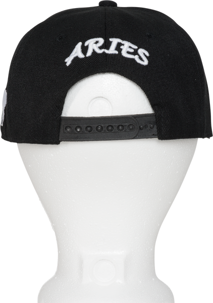 Aries Zodiac Sign Hat - Back