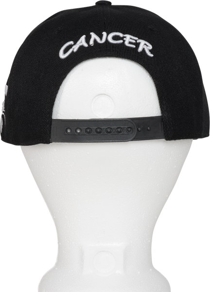 Cancer Zodiac Sign Hat - Back