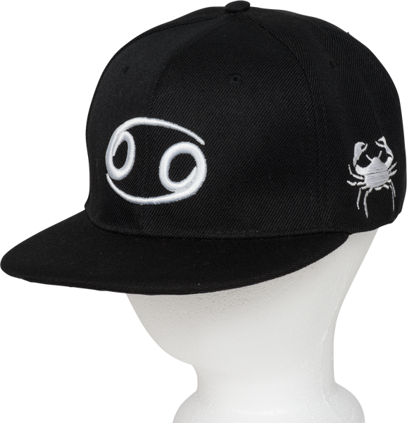 Cancer Zodiac Sign Hat - Front Side