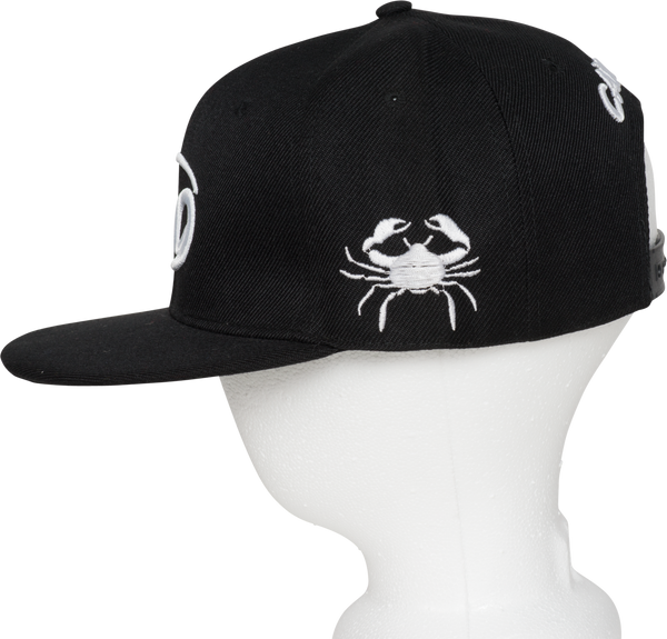Cancer Zodiac Sign Hat - Side