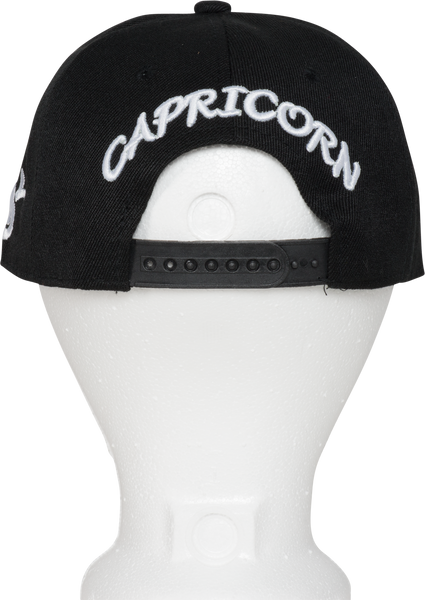 Capricorn Zodiac Sign Hat - Back