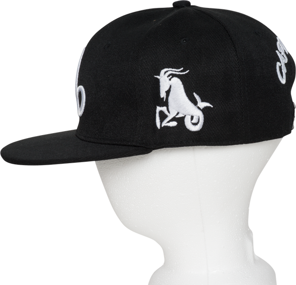 Capricorn Zodiac Sign Hat - Side