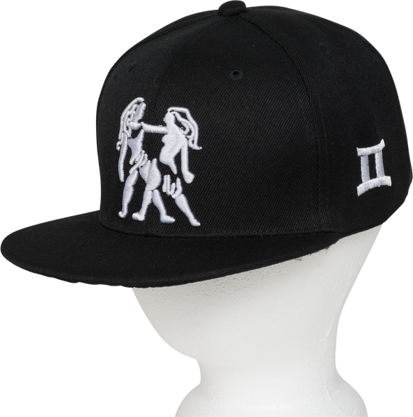 Gemini Zodiac Animal Hat - Front Side