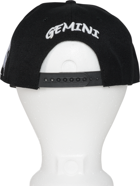 Gemini Zodiac Sign Hat - Back