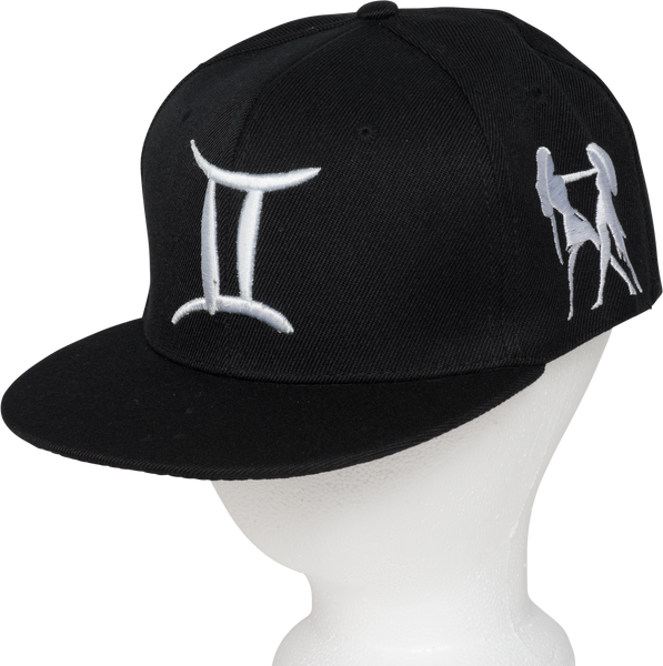 Gemini Zodiac Sign Hat -  Front Side