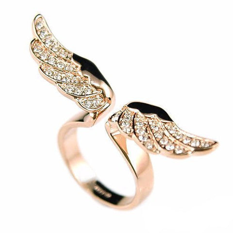 Gold Angel Ring