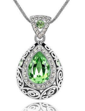 Green Guardian Gemstone Necklace