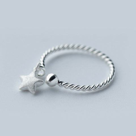 Guardian Star Sterling Ring