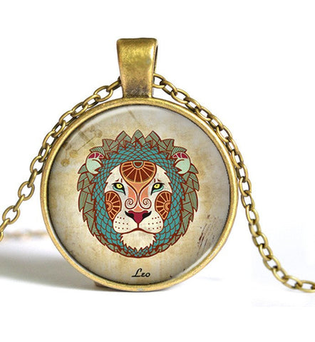 Leo Animal Sign Pendant