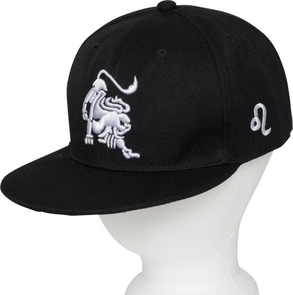 Leo Zodiac Animal Hat - Front Side