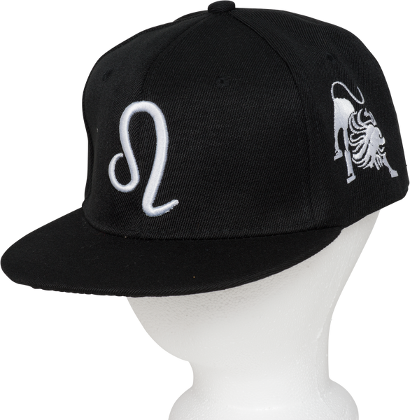 Leo Zodiac Sign Hat - Front Side