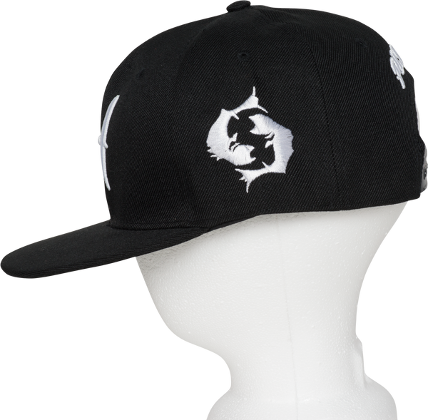 Pisces Zodiac Sign Hat - Side