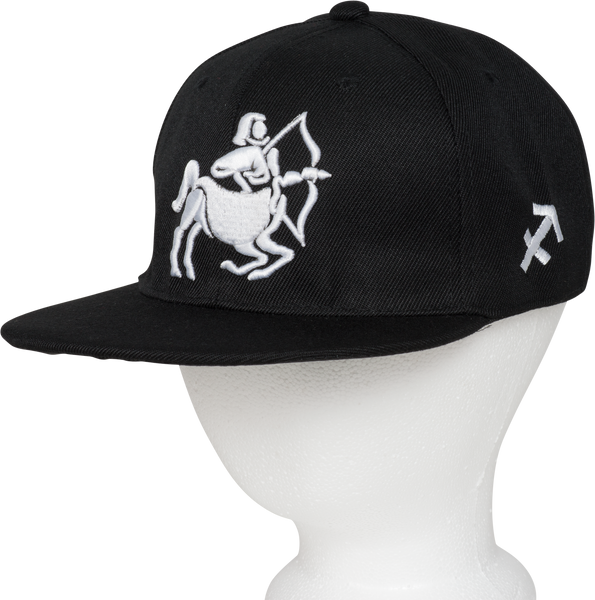 Sagittarius Zodiac Animal Hat - Front Side