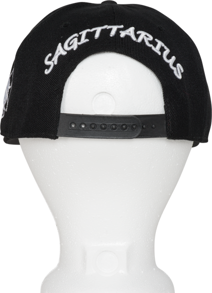 Sagittarius Zodiac Sign Hat - Back