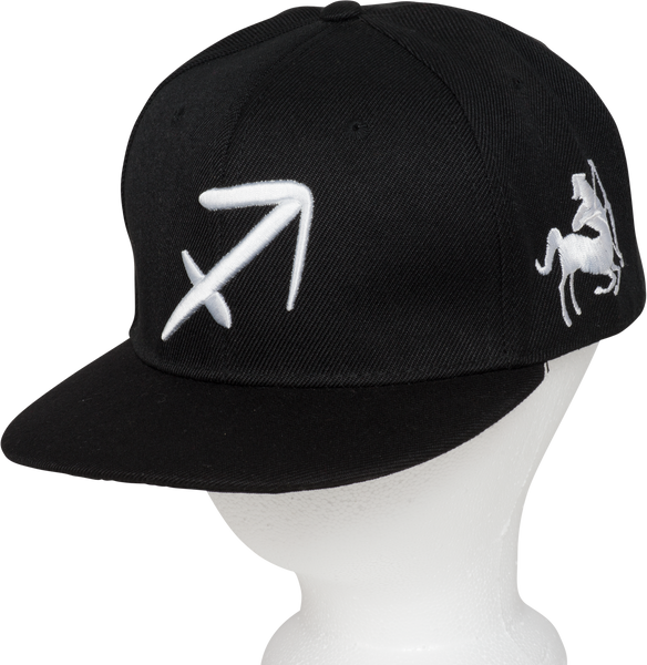 Sagittarius Zodiac Sign Hat - Front  Side