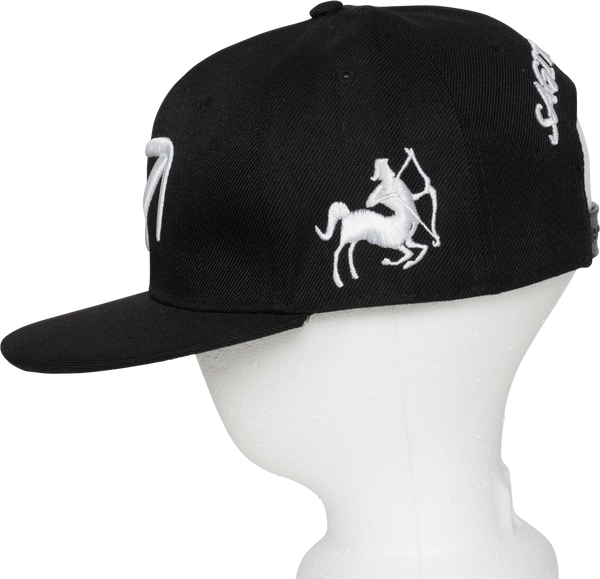 Sagittarius Zodiac Sign Hat - Side