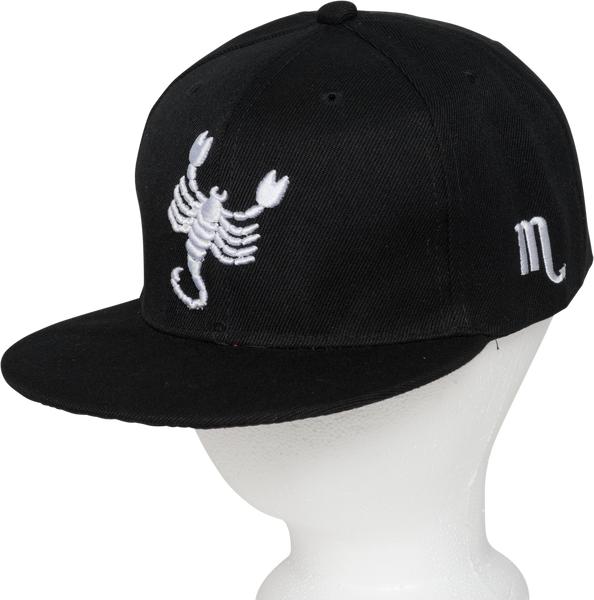 Scorpio Zodiac Animal Hat - Front Side