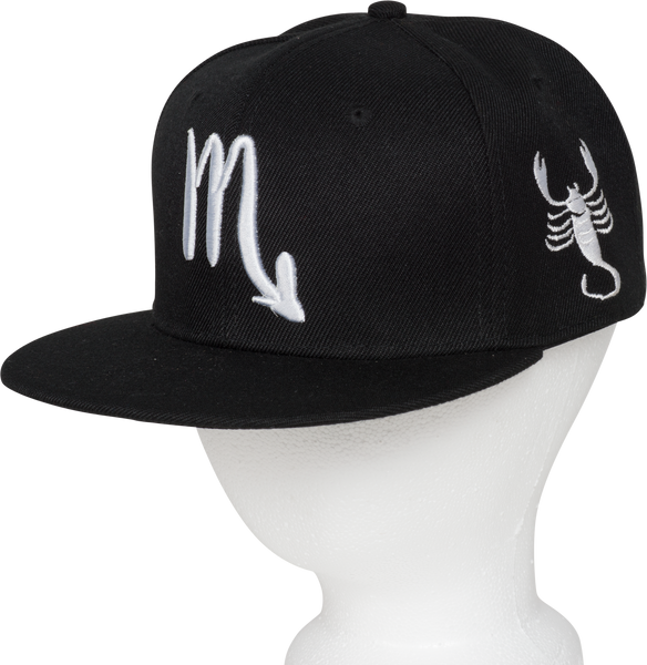 Scorpio Zodiac Sign Hat - Front side