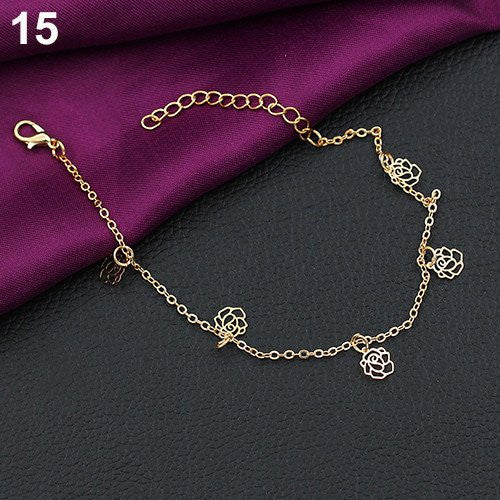Style 15 Various Trendy Anklets