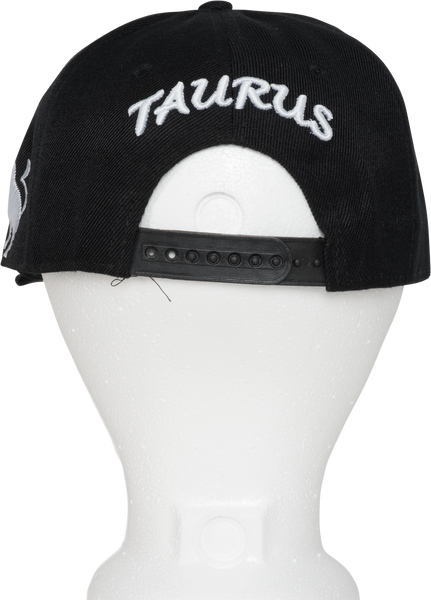 Taurus Zodiac Sign Hat - Back