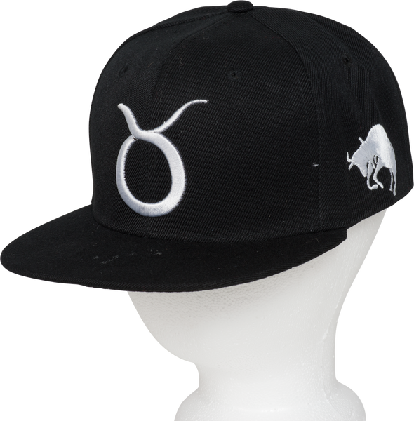 Taurus Zodiac Sign Hat - Front Side