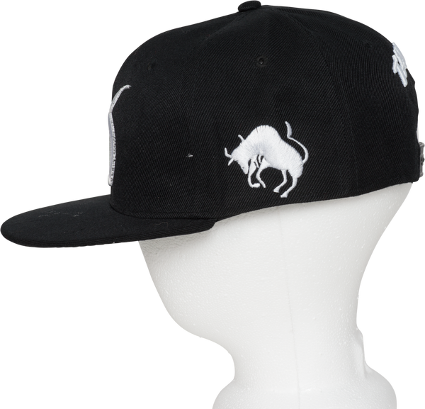 Taurus Zodiac Sign Hat - Side